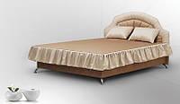 Полуторная кровать Классик с мягким изголовьем