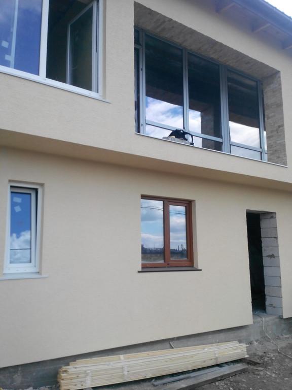 Строительство частного дома в Бурлачьей Балке -1
