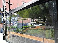 "Прозрачные шторы для летней террасы ресторан ""Syndicate"""