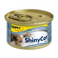 Gimpet Shiny Cat, с тунцом и креветками 70гр