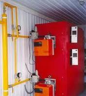 Газовый жаротрубный котел Термоблок Колви 240 Д