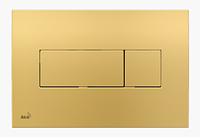 Кнопка управления AlcaPlast золотая M375