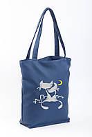 Сумка Стандарт флай «Коты под луной», фото 1