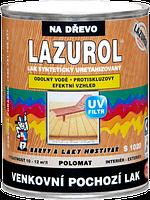 Синтетический уретанизированный лак LAZUROL LAK VENKOVNÍ POCHOZÍ S1020