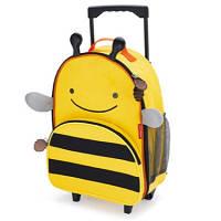 Детский чемодан на колесиках Пчелка Skip Hop Zoo Luggage Bee