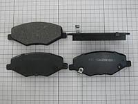 Колодки тормозные передние Chery Amulet