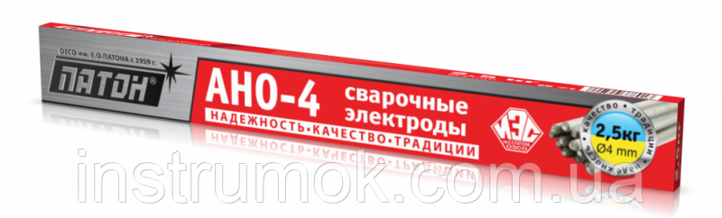 Электроды для сварки 3 мм, 2,5 кг АНО-4 Патон