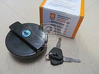 Крышка бака топливного ВАЗ старого образца пластмассовая с ключом (Дорожная Карта). 2101-1103010
