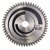 Циркулярный диск Bosch 210x30 54 Multi Material