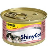 Gimpet Shiny Cat Kitten, c курицей 70гр