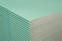 Гипсокартонная плита Кнауф ГКП потолочная (влагостойкая) 2500*1200*9,5 мм