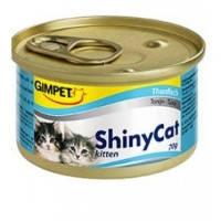 Gimpet Shiny Cat Kitten c тунцом 70гр