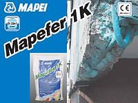 Щелочная антикоррозийная защита арматурных стержней в ходе мероприятий по ремонту бетона Mapei Mapefer 1K 5 кг