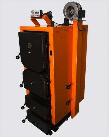 Твердотопливный котел длительного горения ДТМ Турбо 40-Т, фото 1