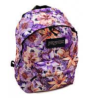 Молодежный городской рюкзак 28 л. Jansport 3334-a889-2 (3) 3d цветы