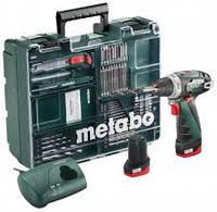 Дрель-шуруповерт аккум. METABO PowerMaxx BS Basic Mobile Workshop NEW (600080880)