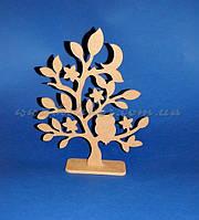 Дерево с совой (материал МДФ) заготовка для декора