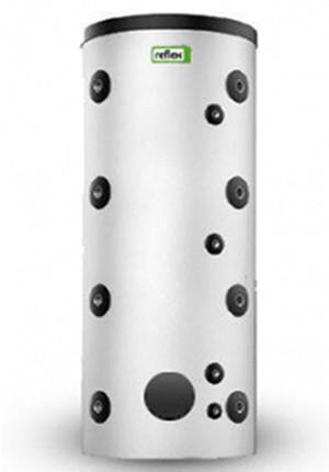 Буферный накопитель Reflex HF/R базовая версия с фланцем и теплоизоляцией