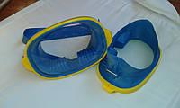 Маска для подводного плавания Акванавт, детская, подростковая,  10 - 15 лет (мягкая резина)