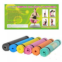 Коврик для занятия фитнесом, йогой Profi fitness MS 0205 (наличие цвета уточняйте)