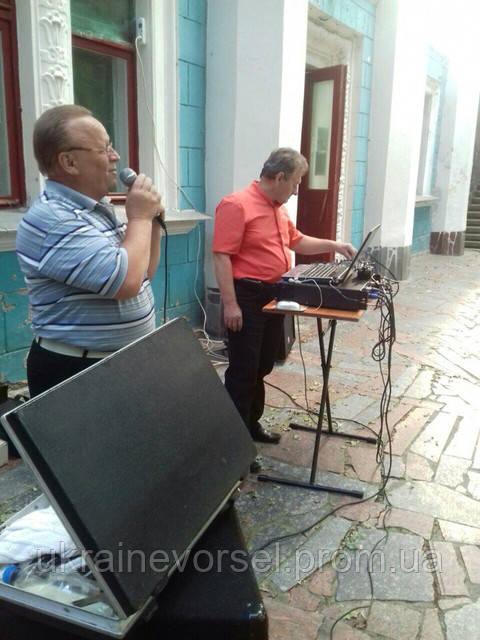 """Заслуженый артист Украины в санатории """"Украина"""""""