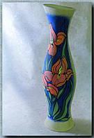 Керамическая ваза напольная Осама, ирис