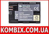 Aккумулятор Canon LP-E6 | PowerPlant для Canon 5D II, 60D, 6D, 7D, фото 1