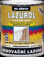 Синтетическая лазурь LAZUROL - RENOVAČNÍ LAZURA S1040