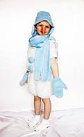 Карнавальный костюм Снеговик №1