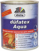 Dufatex aqua (Р) Без цвета, дуб, махагон, орех, палисандр, сосна, тик 2,5л