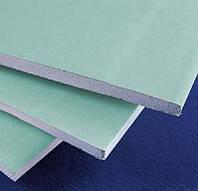 Влагостойкий стеновой гипсокартон Knauf ГКПВ 2000*1200*12,5 мм