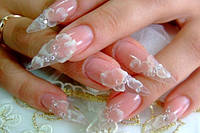 Наращивание, коррекции ногтей — 50% в салоне MAKNAILS
