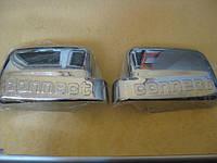 Накладка на зеркала Ford Connect (09 -  ) (форд коннект), ABS -пластик