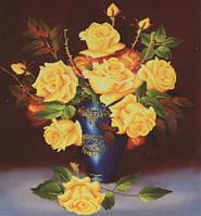 """Алмазная мозаика """"Солнечные розы"""" 70*79см"""