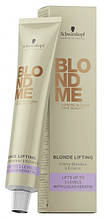 Осветляющий крем для волос BlondMe Blonde Lifting Лёд 60 мл