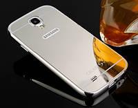 Чехол бампер для Samsung Galaxy S4 i9500 зеркальный Брак
