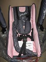 201 Качели напольная №1 (барьерка&столик) ТМ ADBOR (серый, с розовым(светлым))