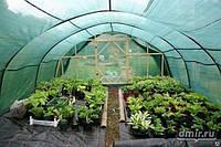 Затеняющая сетка 70% JAMAICA 100*6м зеленая (Италия), фото 1