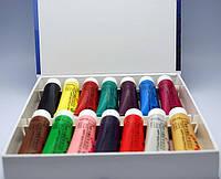 Краски акриловые для китайской росписи 14 цветов 22мл. (на силиконовой