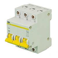 Автоматический выключатель ВА47-29 3Р 25А 4,5кА характеристика С ІЕК