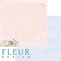 Лист бумаги Fleur Design, Девочки - Сладкий сон, 30x30 см, 1 шт