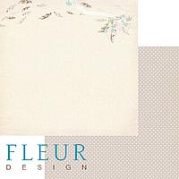Лист бумаги Fleur Design, Зарисовки весны - Полёт, 30x30 см, 1 шт