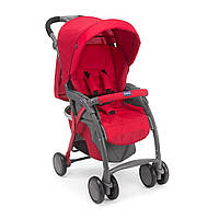 904 Прогулочная коляска Simplicity Plus Top ТМ CHICCO (04.70, красный(Red))