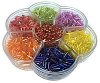 Наборы бисерные (7 цветов) для детского творчества