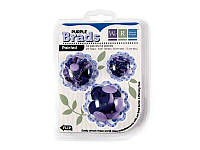 Брадсы We R Memory Keepers, Basic Brads Painted - Purple, 54 шт