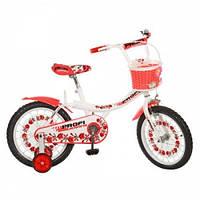 Велосипед для девочки передним багажником