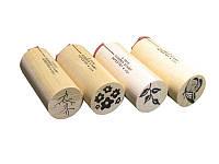 Набор резиновых штампов Rubber Stamp Tapestry -  Watercolor Blooms, 4 шт