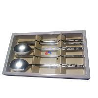 Металлические палочки для еды «Журавль счастья», фото 1