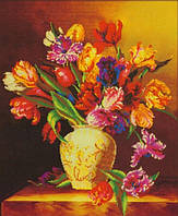"Алмазная мозаика ""Яркие тюльпаны"""