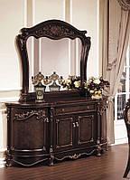 Буфет с зеркалом в классическом стиле Донателла